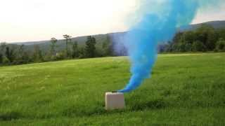 getlinkyoutube.com-Enola Gaye Pull Ring Burst and Regular Smoke Grenade