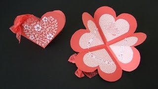 getlinkyoutube.com-Heart Shaped Fancy Fold Card