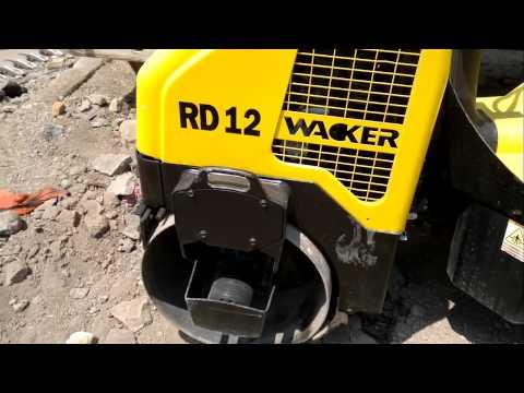 Rodillo Compactador Wacker Rd 12