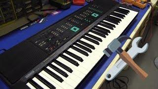 getlinkyoutube.com-EEVblog #256 - Yamaha PSR-80 Keyboard Teardown