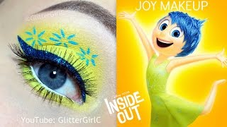 getlinkyoutube.com-INSIDE OUT JOY MAKEUP TUTORIAL