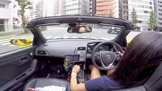 getlinkyoutube.com-【車載】愛車のS660とウェイクでツーリング♪( ^ ^ )/【6MT】