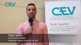 Entrevista a alumne del CEV (promoció 2014 - 2016)
