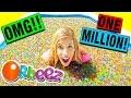 1 MILLION ORBEEZ BATH DARE CHALLENGE! WITH HUGE GIVEAWAY!!