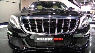 getlinkyoutube.com-2016 Mercedes Maybach S600 Brabus 900hp - Exterior , Interior Walkaround - 2015 Frankfurt Motor Show