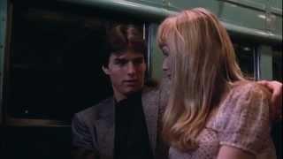 RiskyBusiness  1983 scene sex on a train width=