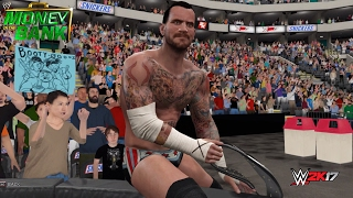 getlinkyoutube.com-WWE 2K17 Recreation: CM Punk wins the WWE Championship vs John Cena at Money in the Bank 2011 (PC)