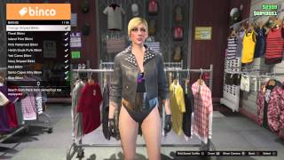 How to get Invisible body parts - Females - GTA Online - PS3 XBOX 360