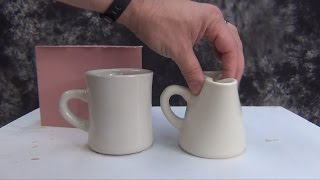 getlinkyoutube.com-Prop Making Tips: Casting A Rubber Coffee Cup Action Prop