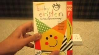 getlinkyoutube.com-Daddy & Eric's Baby Einstein DVD & VHS Collection