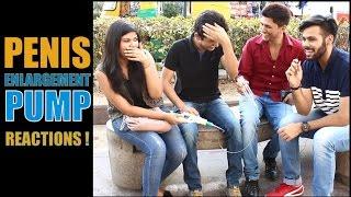 getlinkyoutube.com-Delhi Hilarious Reaction On PENIS ENLARGEMENT PUMP !