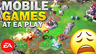 Mobile Games at EA E3 2018 Press Conference (Command & Conquer Rivals: Reaction) width=