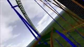 getlinkyoutube.com-Shazer/ Cannibal Lagoon's Rumored 2015 Roller Coaster [No Limits] [HD]
