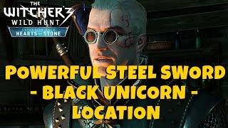 getlinkyoutube.com-BLACK UNICORN - Strongest Steel Sword Location [Level 46] - The Witcher 3: Hearts of Stone
