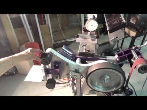Homemade 2x72 belt grinder