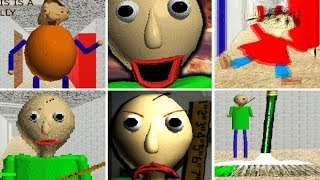 Baldi's Basics in Education and Learning ALL JUMPSCARES