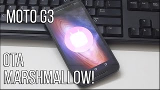 getlinkyoutube.com-Marshmallow 6.0 Moto G3 OTA Update Review