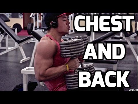Quick Chest and Back Day