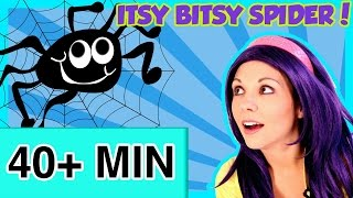 Itsy Bitsy Spider and More | Animated Nursery Rhymes Video Compilation