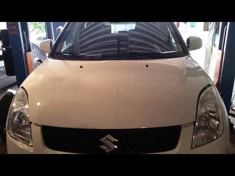 Suzuki Swift 2009 г 1,5 б.1ЧАСТЬ.Замена переднего сальника коленчатого вала,подшипника кондиционера.
