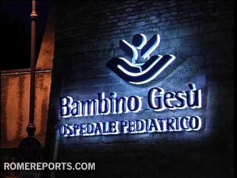 Fire in Vatican run hospital 'Bambino Gesu' in Rome