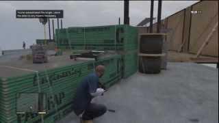 getlinkyoutube.com-GTA V (58) Franklin: Climbing the Construction Tower