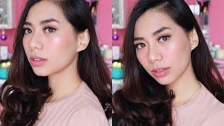 getlinkyoutube.com-Kose One brand Makeup Tutorial & Esprique Cool BB Spray First Impression - Abel Cantika