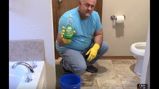 getlinkyoutube.com-How to unclog a toilet using dish soap. DIY...save 💲💲💲 before calling a plumber!