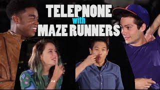 getlinkyoutube.com-Telephone Challenge (ft. MAZE RUNNER: The Scorch Trials)