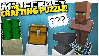 getlinkyoutube.com-Minecraft | I Have To Make WHAT!? | The CRAFTING Puzzle (Minecraft Puzzle Map)