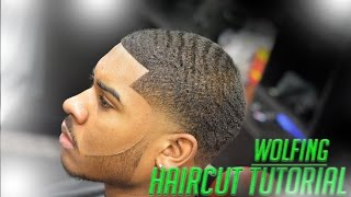 getlinkyoutube.com-Barber Turtoial: How To Cut A Wolfing Client