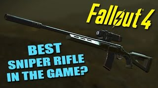FALLOUT 4: The Best Sniper Rifle in the Game? - Over 2500 Damage! (.50cal Double Damage Legendary)