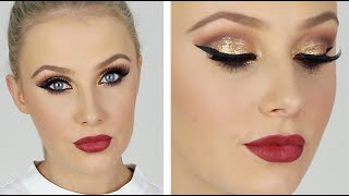 getlinkyoutube.com-ULTRA GLAM Special Occasion Makeup! | Lauren Curtis