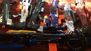 Drac's ULTIMATE Nerf Longshot Collection (October 2015)