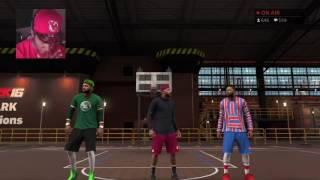 getlinkyoutube.com-NBA 2K17 MyPARK LIVESTREAM - CHASING LEGEND WITH JUCEMAN AND KING SHAWN! | WIN STREAK KILLERS!