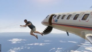 getlinkyoutube.com-GTA V: Stealing planes  (A Scenic flight over Los Santos) (XBOX 360/PS3)