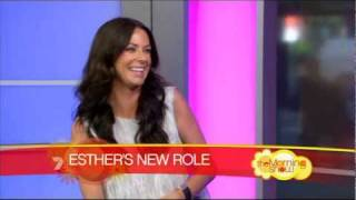 Esther Anderson - The Morning Show (8 November 2011)