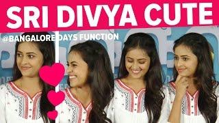 Sri Divya Cute Expressions in Stage   Cine Filck