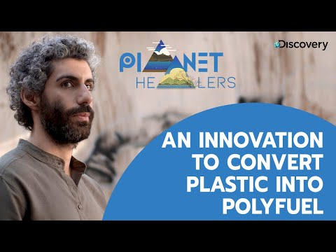 An innovation to convert plastic into polyfuel