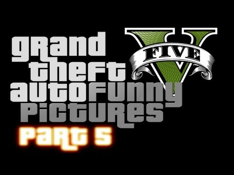 GTA5 Trailer Funny Pictures Part 5