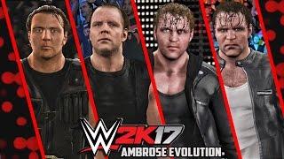 getlinkyoutube.com-WWE 2K17 - Dean Ambrose Entrance Evolution! ( WWE 2K14 To WWE 2K17 )