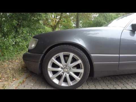 Секрет верхнего переднего рычага W140