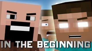 getlinkyoutube.com-In The Beginning (Minecraft Machinima)