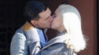 getlinkyoutube.com-Lady Gaga And Finn Wittrock Hot Kissing Scene | American Horror Story Hotel