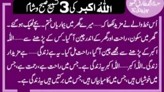 getlinkyoutube.com-Allahu Akbar Ki Barkat Hakeem Tariq Mehmmod Ubqari