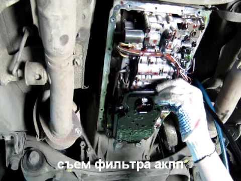 Промывка акпп lexus gs III