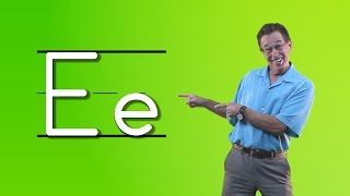 getlinkyoutube.com-Learn The Letter E | Let's Learn About The Alphabet | Phonics Song for Kids | Jack Hartmann
