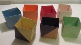 getlinkyoutube.com-كيف تصنع علبه عميقه من ورق ?