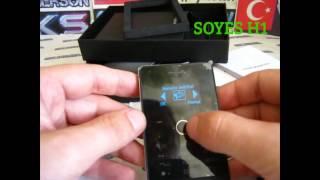 getlinkyoutube.com-SOYES H1 жилезный суперкардфон   c антипотеряй и пердометром)