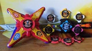 getlinkyoutube.com-DX Ninja Battle Morpher, Ninja Star Blade & Power Star Packs Review (Power Rangers Ninja Steel Toys)